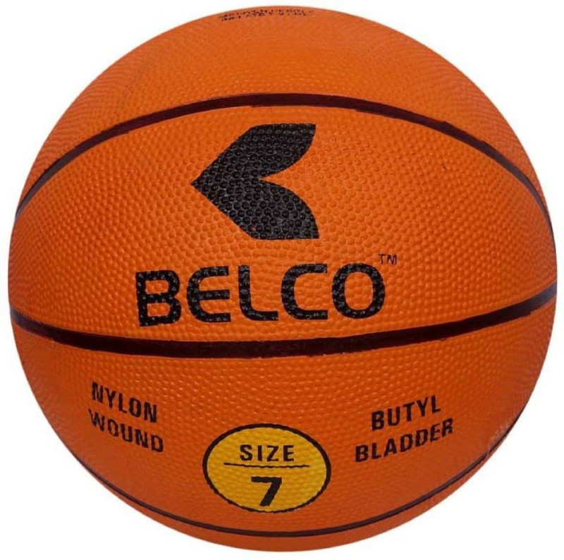 Belco New League Basketball Size 7 Basketball - Size: 7(Pack of 1, Multicolor)