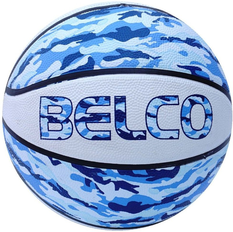 Belco New Street Basketball Size 7 Basketball - Size: 7(Pack of 1, Multicolor)