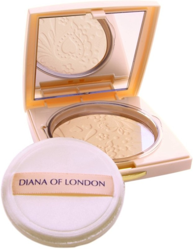 Diana of London Absolute Stay Compact Powder Compact - 9 g (401-PORCELAIN MAGIC) Compact - 9 g(PORCELAIN MAGIC)