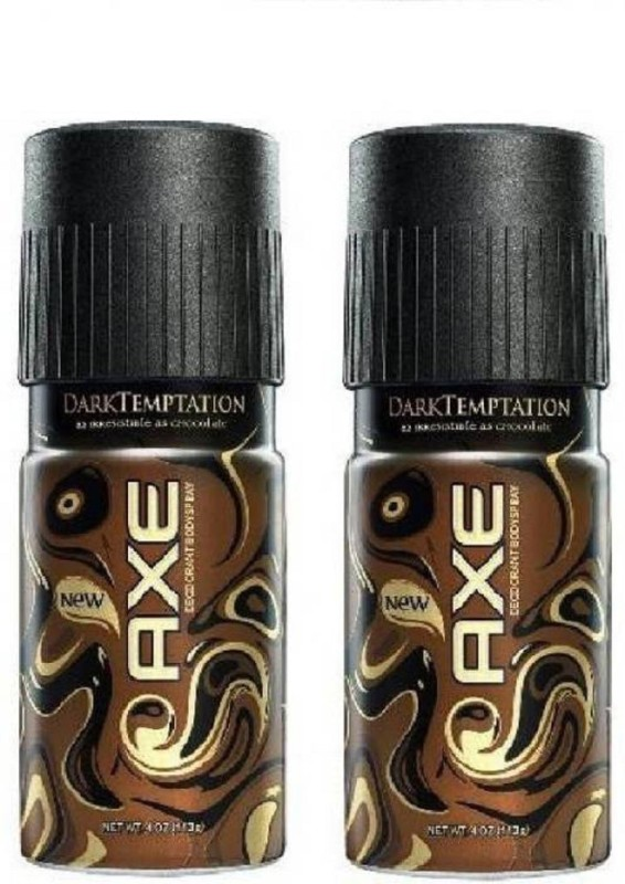 AXE Dark Temptation - Deodorant Body spray - 150ml Deodorant Spray (Pack of 2) Deodorant Spray - For Men(150 ml, Pack of 2)