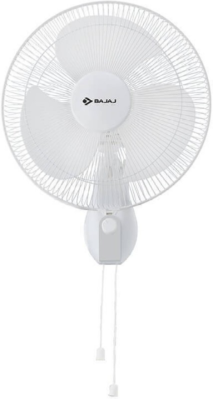 Bajaj Neo Spectrum 400 mm High Speed Multicolor 3 Blade Wall Fan(Multicolor)