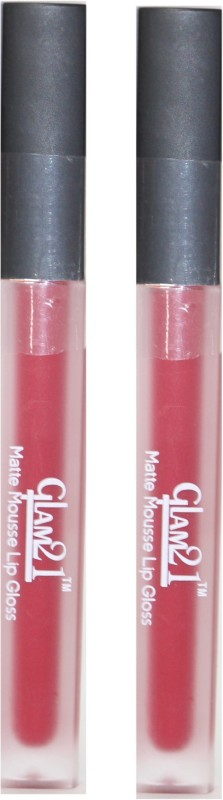 Glam 21 Matte Mousse Red LipGLoss(6 g, Red)