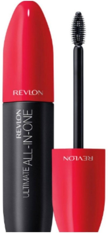 Revlon ultimate all in one waterproof mascara blackest black 8.5 ml(black)