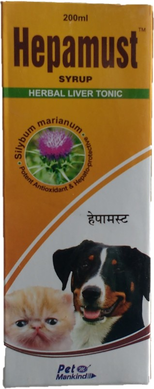 MANKIND Hepamust (herbal liver tonic) Pet Health Supplements(200 ml)