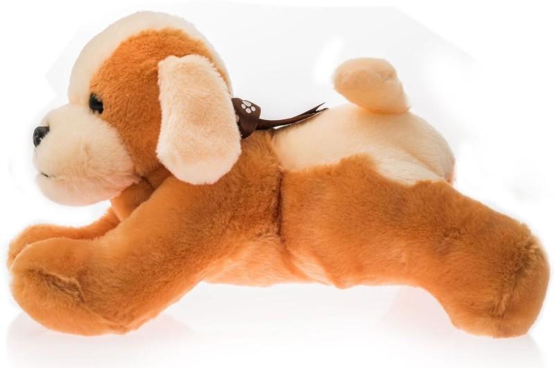 Dimpy Stuff Dimpy Lying Dog - 34 cm(Multicolor)