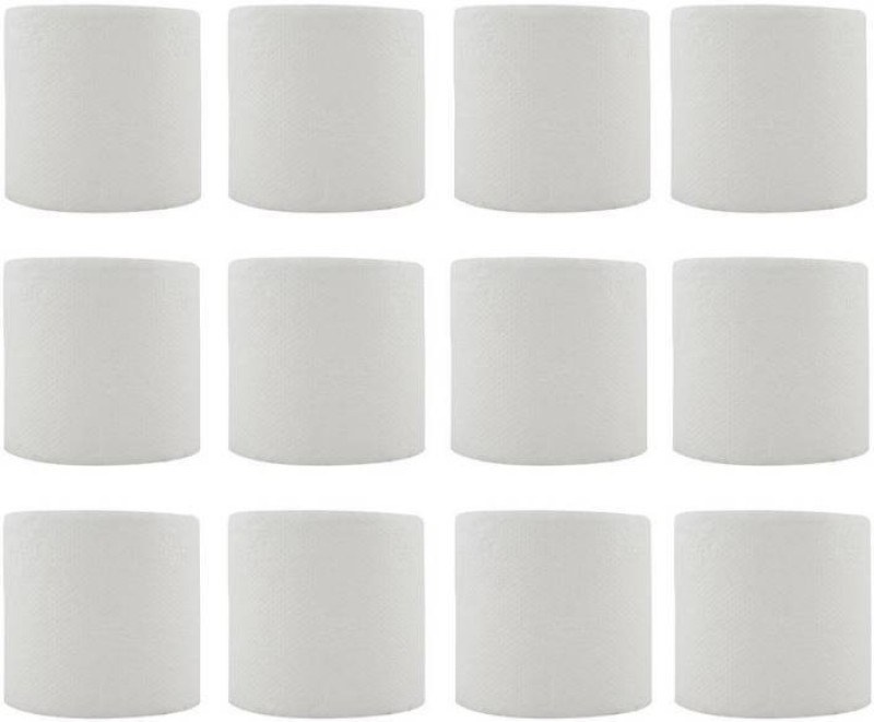 SWAKS TOILET ROLL (2PLY) PACK OF 12 Toilet Paper Roll(2 Ply, 0 Sheets)