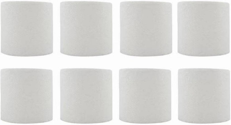 SwakS toilet roll (2ply) pack of 8 Toilet Paper Roll(2 Ply, 200 Sheets)