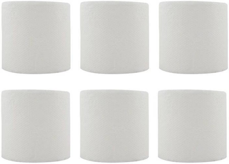 SWAKS toilet roll (2ply) pack of 6 Toilet Paper Roll(2 Ply, 200 Sheets)