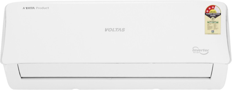 Voltas 1.0 Ton 3 Star Split Inverter AC - White(123VCZT, Copper Condenser)