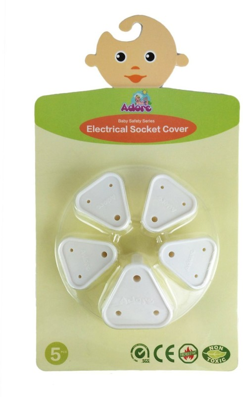 Adore Baby Safety Electric Socket Cover(White)