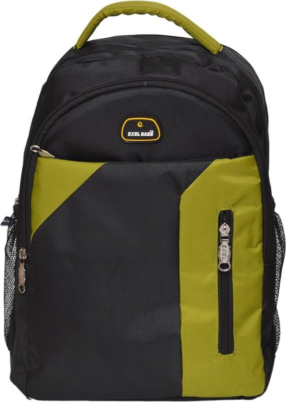 Exel Bags Trendy 30 L Backpack(Green, Blue)
