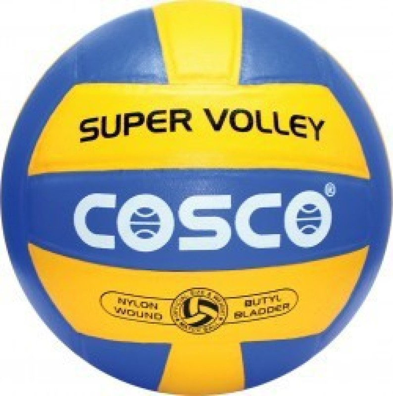 Cosco SUPER VOLLEY Volleyball - Size: 4(Pack of 1, Multicolor)