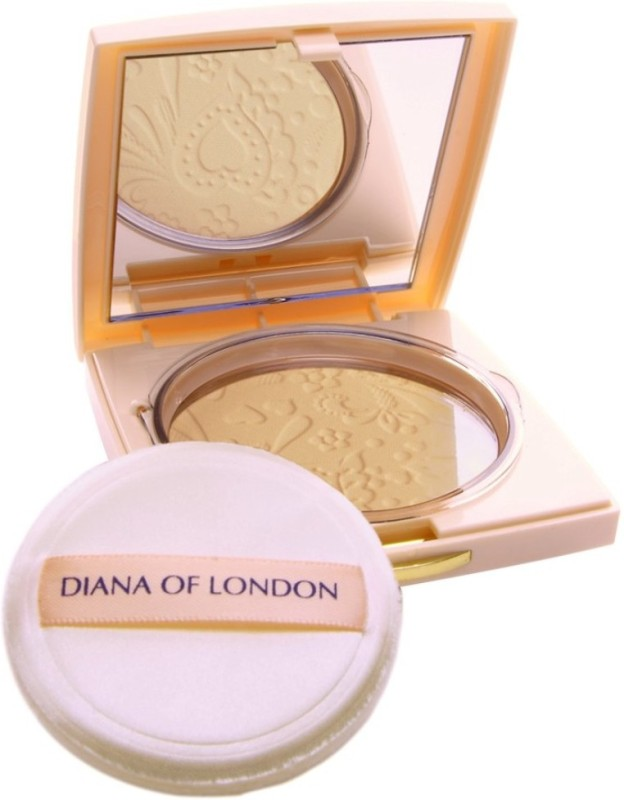 Diana of London Absolute Stay Compact Powder Compact - 9 g�(408-FRESH CARAMEL) Compact - 9 g(FRESH CARAMEL)
