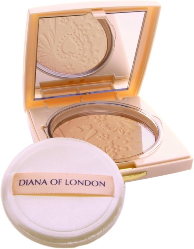 Diana of London Absolute Stay Compact Powder Compact - 9 g�(407-ROSE TAN) Compact - 9 g(ROSE TAN)