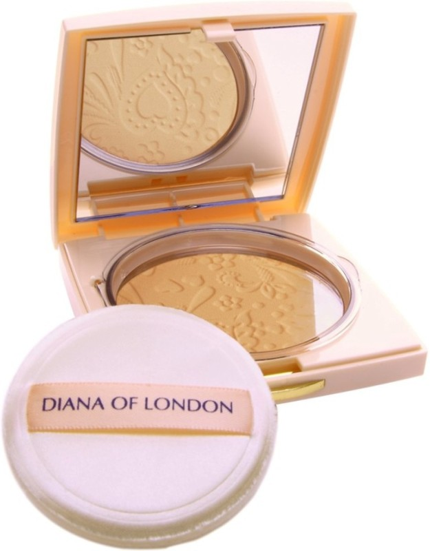 Diana of London Absolute Stay Compact Powder Compact - 9 g�(406-NATURAL ALMOND) Compact - 9 g(NATURAL ALMOND)
