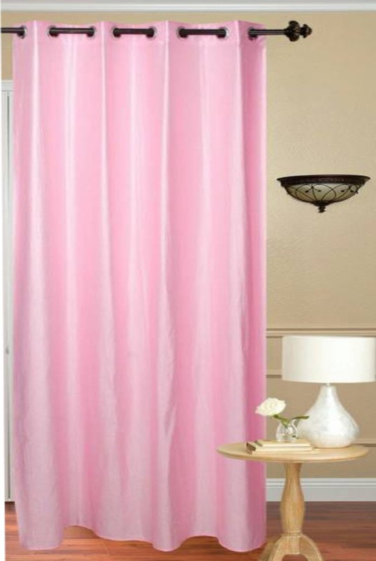 check MRP of baby pink curtains TrueValue Creations