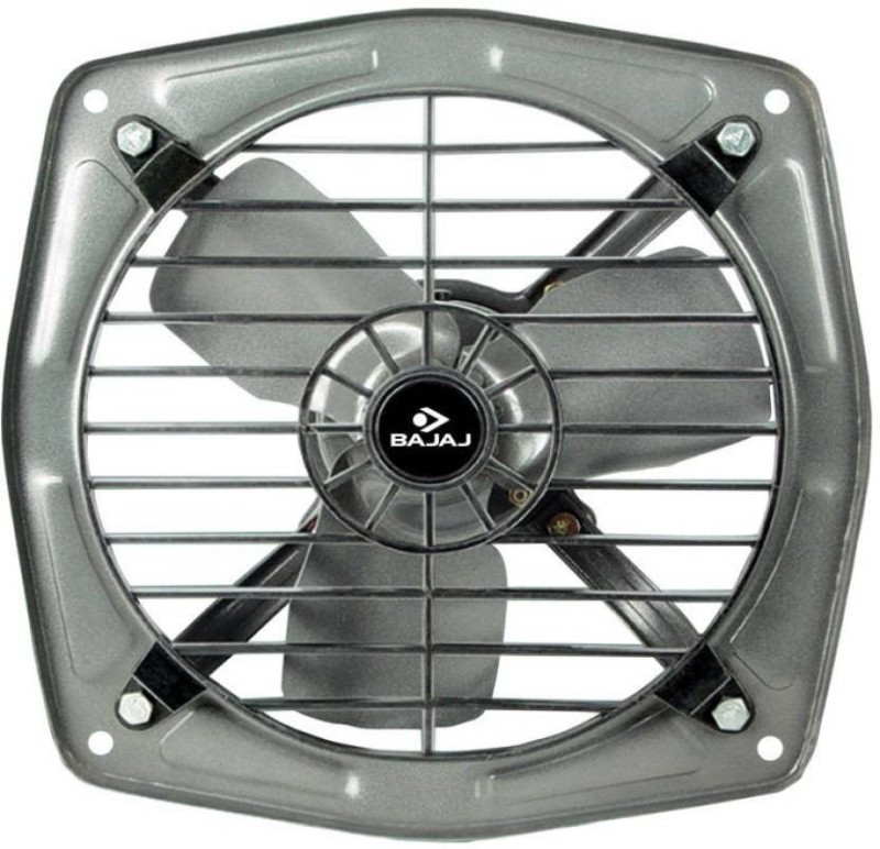 Bajaj Bahar 150-mm Metallic Grey Dom Ex/Fan 3 Blade Exhaust Fan(Metallic Grey)