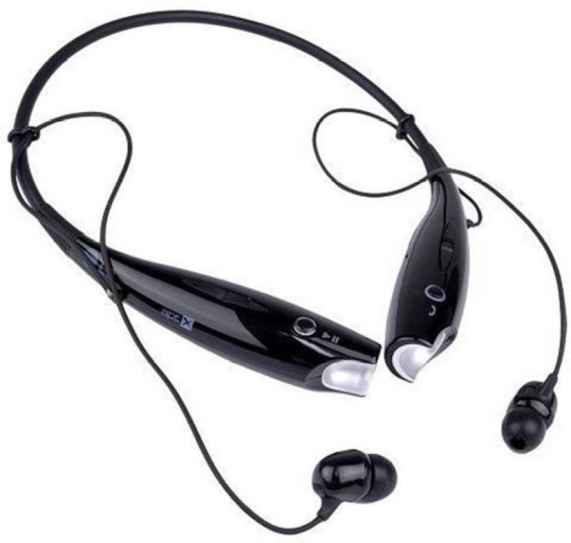 f10e5b62a1e 49%off CYXUS HBS 730 BLACK Wireless Original HEADSET 021 with Behind the  Neck style Mic Smart Headphones