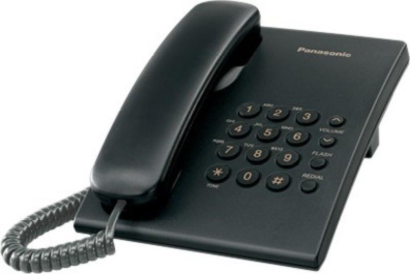 Panasonic PanasonicKXTS50004 Cordless Landline Phone(Multicolor)