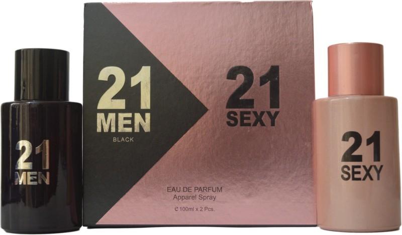21 MEN 21 SEXY Combo Eau de Toilette - 100 ml(For Men & Women)