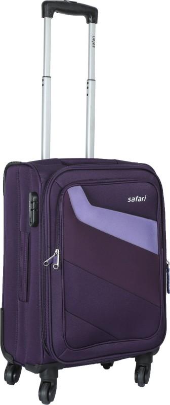 Safari Korrekt Expandable Cabin Luggage - 22 inch(Purple)