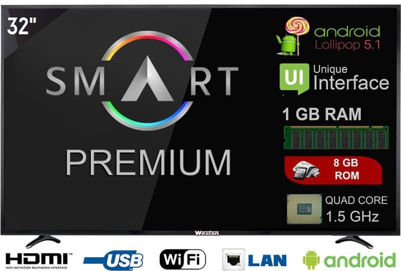 55ab9c6c762 Weston 80cm (32 inch) HD Ready LED Smart TV(WEL3200SP)