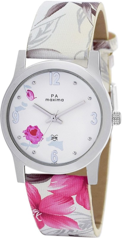 Maxima O-51610LMLI Attivo Collection Analog Watch - For Women