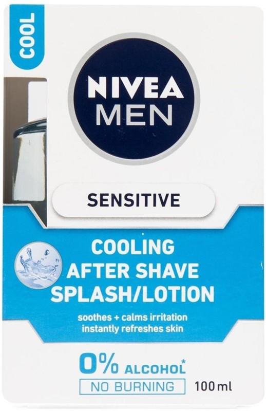 Nivea Men Cooling After Shave Splash/lotion, Sensitive - 100ml(100 ml)