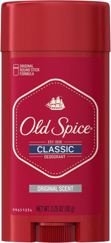 Old Spice Classic Deodorant Stick Original Deodorant Roll-on - For Men(92 g)