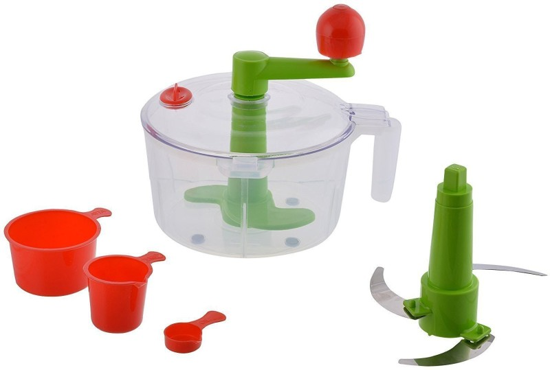 konvex Plastic Spiral Dough Maker(Green, Multicolor)