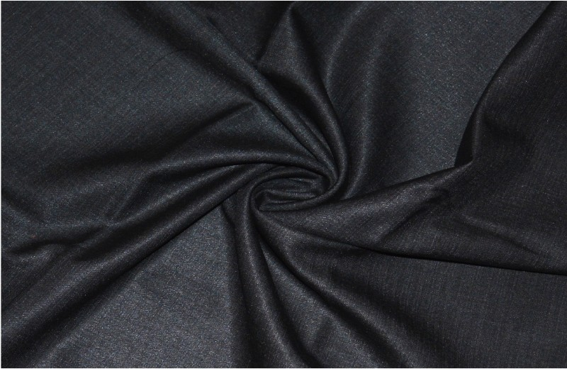 V WALKERS Cotton Polyester Blend Solid Trouser Fabric(Un-stitched)