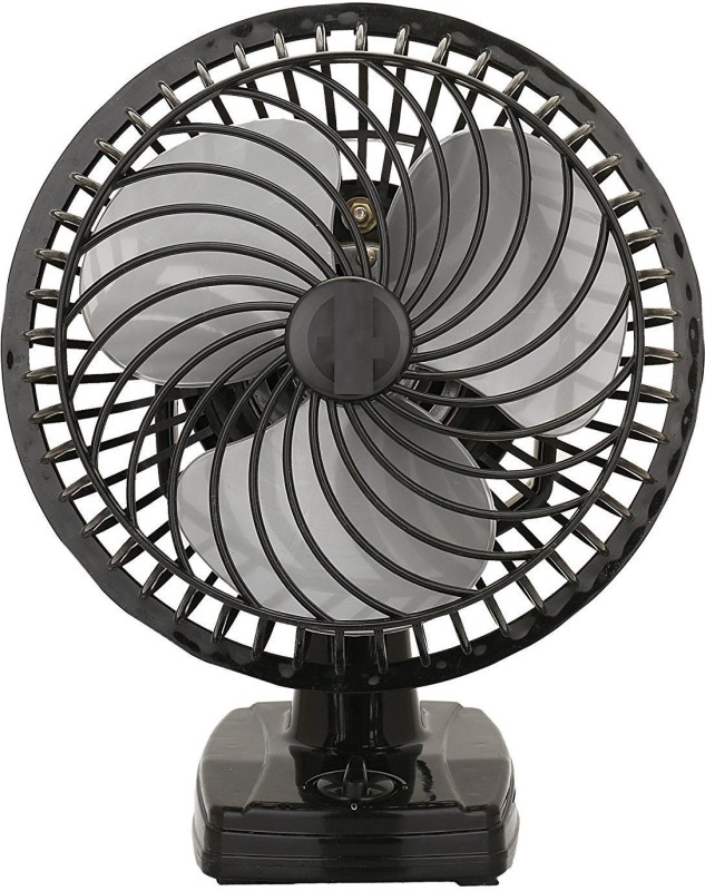 Amikan HOTLINE Cutie || ASHOKA Air Wall Cum Table Fan || With Powerful High 3 Speed Motor || High Speed || Copper Winding || 12 inch 3 Blade Table Fan(BL)