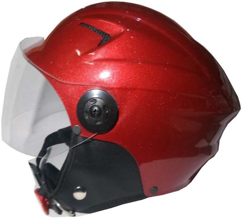 Target Quick 1 Motorbike Helmet(Red)