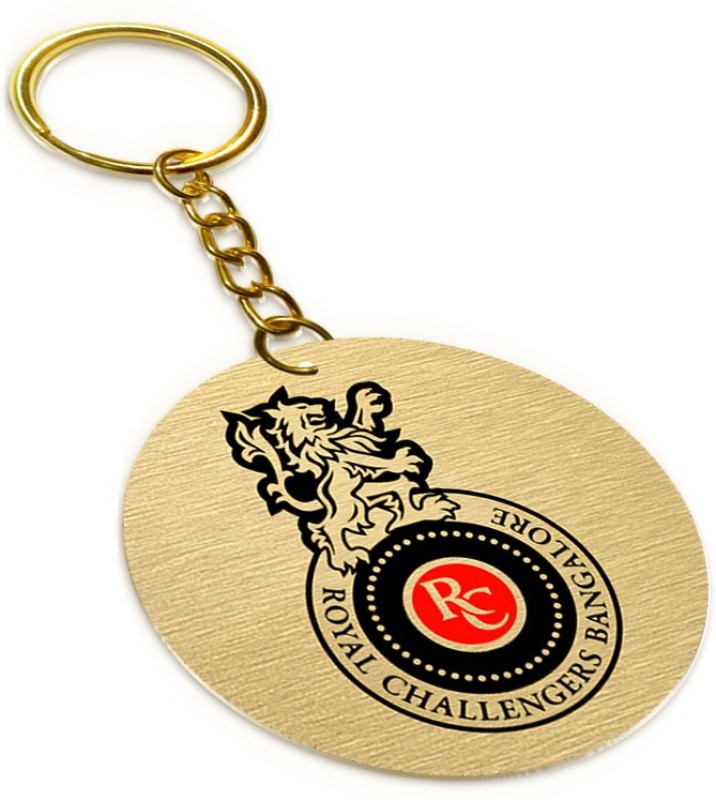 METAL AND MORE Royal Challengers Bangalore RBC01 Key Chain