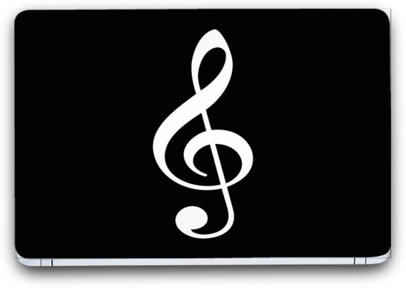Flipkart SmartBuy Musical Notes 4 Vinyl Laptop Skin (3M/Avery Vinyl, Matte Laminated, 14 x 9 inches) Vinyl Laptop Decal 14.1