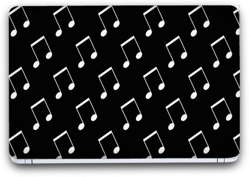Flipkart SmartBuy Music Notes 4 Vinyl Laptop Skin (3M/Avery Vinyl, Matte Laminated, 14 x 9 inches) Vinyl Laptop Decal 14.1