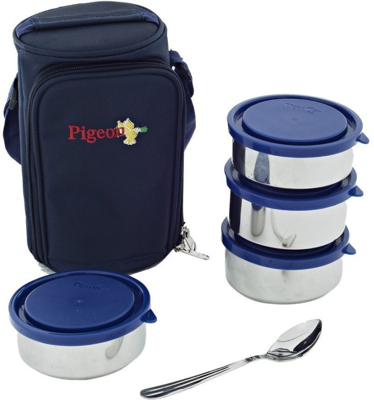 Pigeon 4 Lunch Box 4 Containers Lunch Box(226 ml)