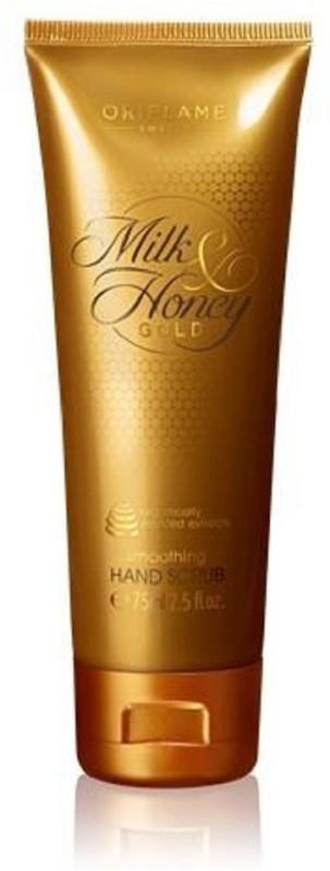 Oriflame Sweden Milk & Honey Gold Nourishing Hand Scrub(75 ml)