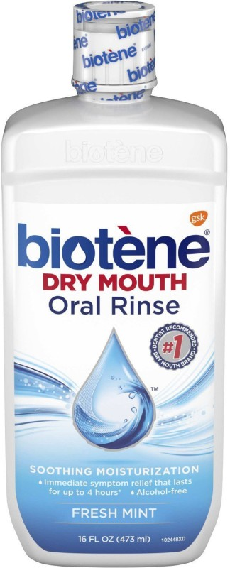 Biotene Dry Mouth Mouthwash - Fresh Mint(473 ml)
