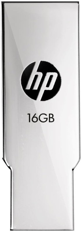 HP V237W 16 GB Metal Pen Drive USB 2.0 Flash Drive 16 GB Pen Drive(Silver)
