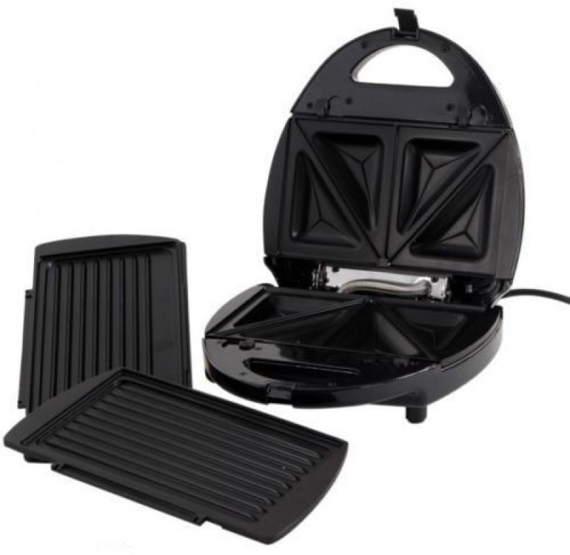 Gauba Traders Deluxe Electric Grill cum sandwich Maker Toast(Multicolor)