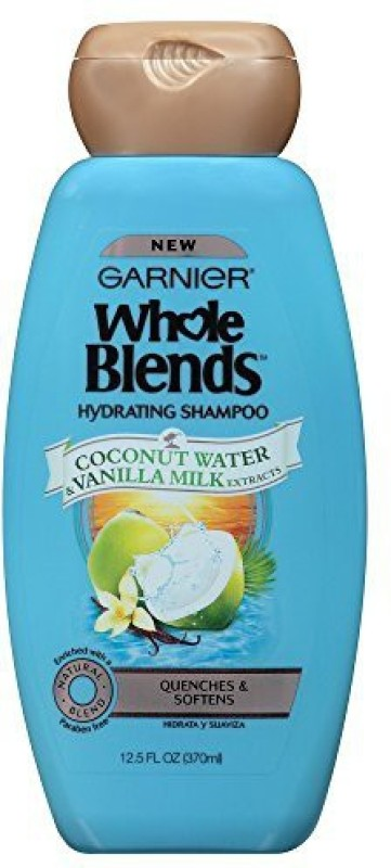 Garnier Whole Blends Shampoo With Coconut Water & Vanilla Milk Extracts(369.67 ml)