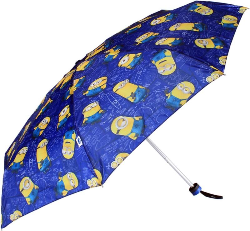 Johns Johns 5 Fold Minions Atom Series Umbrella Umbrella(Blue)
