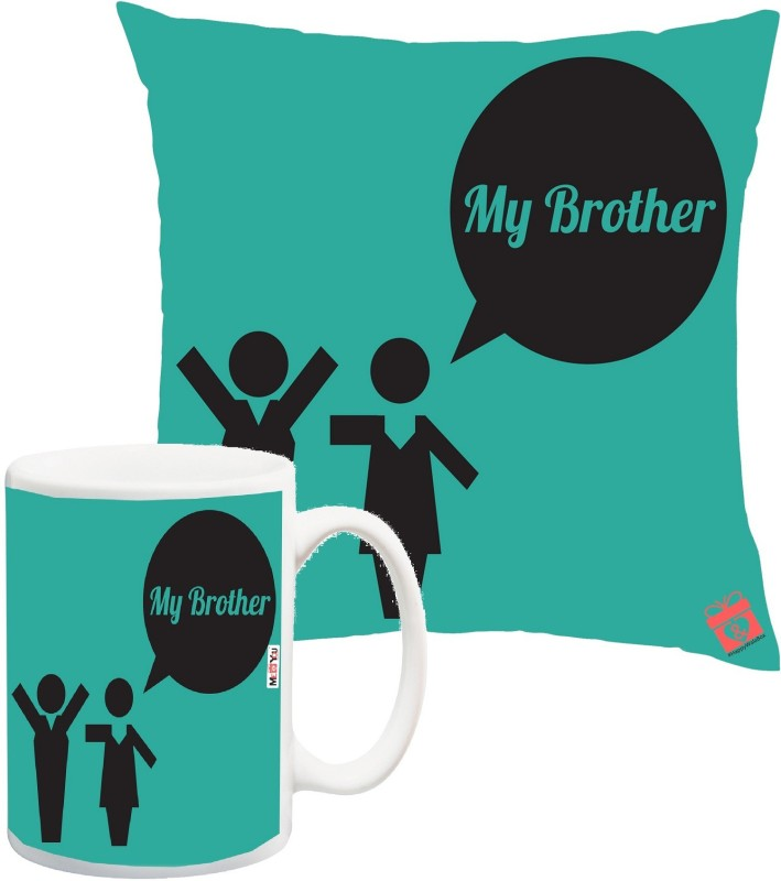 ME&YOU Cushion, Mug Gift Set