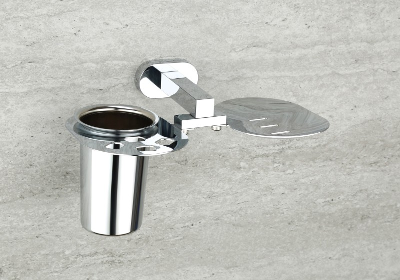 WSK Stainless Steel Bath Mug(Silver 2)