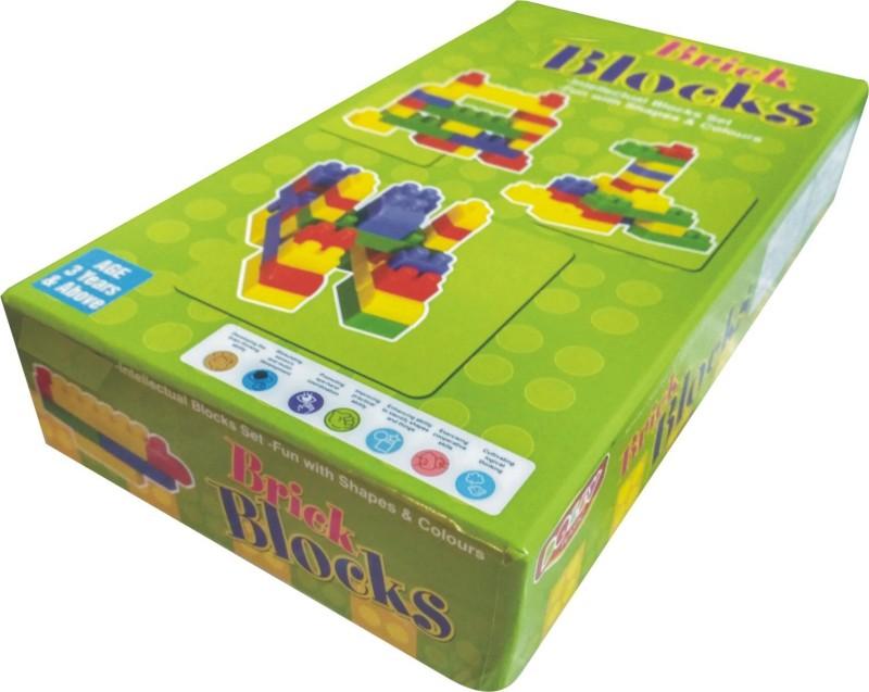 99Shoppy Brick Block Set(Multicolor)
