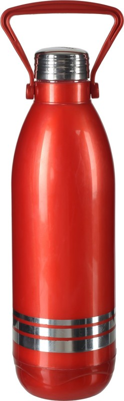 Aarushi Aqua Stainless Steel Water Bottle, 1200 ml (Red) 1200 ml Bottle(Pack of 1, Red)
