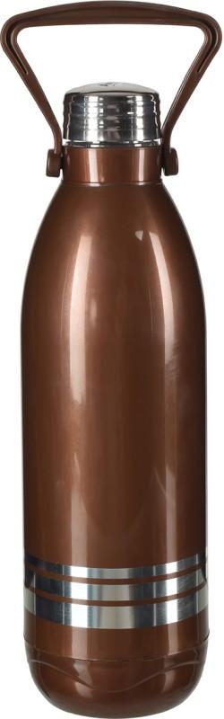 Aarushi Aqua Stainless Steel Water Bottle, 1200 ml (Brown) 1200 ml Bottle(Pack of 1, Brown)