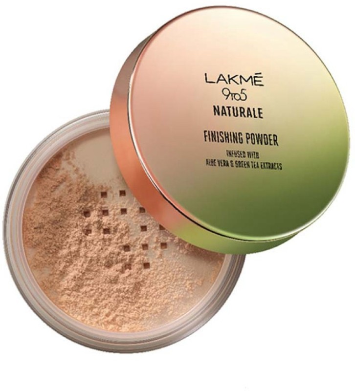 Lakme 9 to 5 Naturale Finishing Powder Compact - 8 g(Beige)