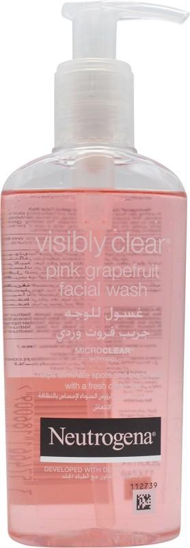 Neutrogena Visibly Pink Grapefruit Facial Wash - (200ml) Face Wash(200 ml)